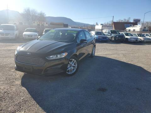 2015 Ford Fusion for sale at Canyon View Auto Sales in Cedar City UT
