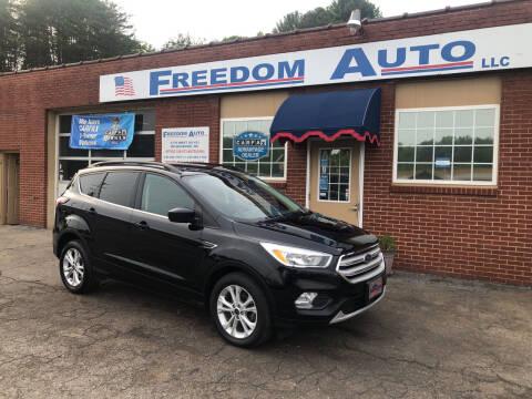 2018 Ford Escape for sale at FREEDOM AUTO LLC in Wilkesboro NC