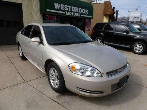 2012 Chevrolet Impala for sale at Westbrook Motors in Grand Rapids MI