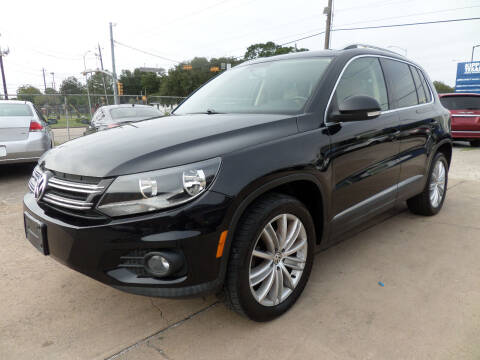 2013 Volkswagen Tiguan for sale at West End Motors Inc in Houston TX