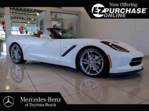 2014 Chevrolet Corvette for sale at Mercedes-Benz of Daytona Beach in Daytona Beach FL