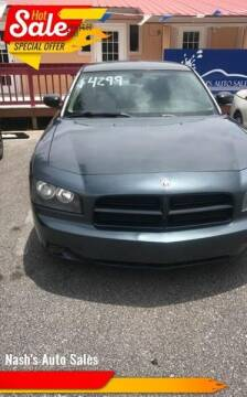 2007 Dodge Charger for sale at Nash's Auto Sales Used Car Dealer in Milton FL