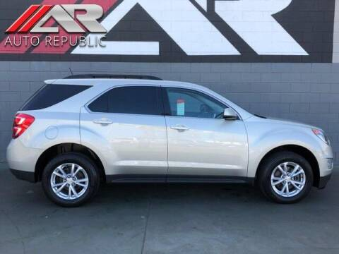 2016 Chevrolet Equinox for sale at Auto Republic Fullerton in Fullerton CA