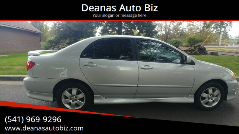 2006 Toyota Corolla for sale at Deanas Auto Biz in Pendleton OR