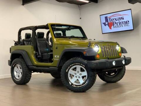 2007 Jeep Wrangler for sale at Texas Prime Motors in Houston TX