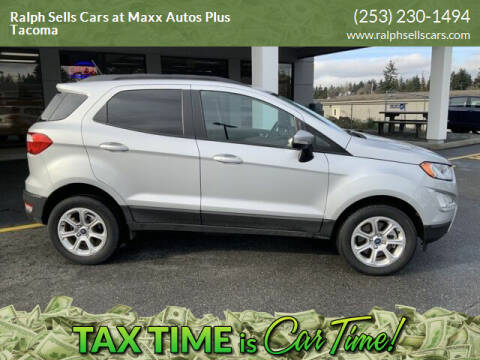 2018 Ford EcoSport for sale at Ralph Sells Cars at Maxx Autos Plus Tacoma in Tacoma WA