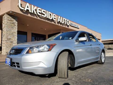 2009 Honda Accord for sale at Lakeside Auto Brokers in Colorado Springs CO