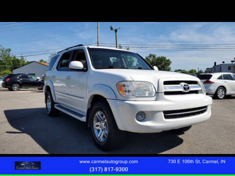 2005 Toyota Sequoia for sale at Carmel Auto Group in Indianapolis IN