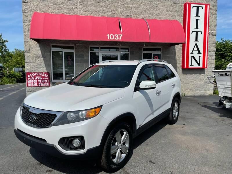 2013 Kia Sorento for sale at Titan Auto Sales LLC in Albany NY