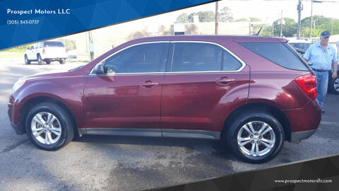 2010 Chevrolet Equinox for sale at Prospect Motors LLC in Adamsville AL