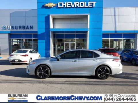 2020 Toyota Camry for sale at Suburban Chevrolet in Claremore OK