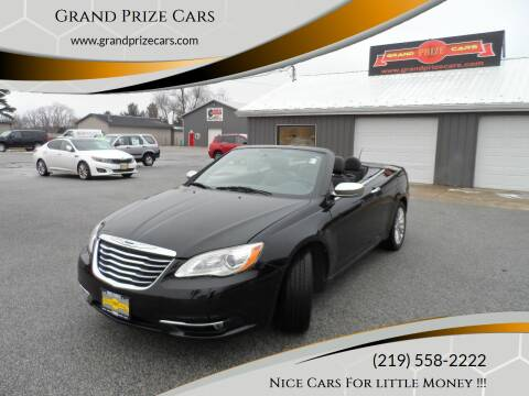 2011 Chrysler 200 Convertible for sale at Grand Prize Cars in Cedar Lake IN