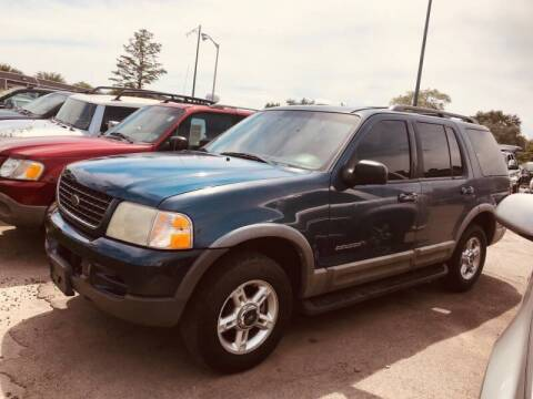 2002 Ford Explorer for sale at I57 Group Auto Sales in Country Club Hills IL
