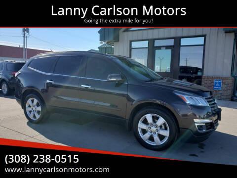 2017 Chevrolet Traverse for sale at Lanny Carlson Motors in Kearney NE