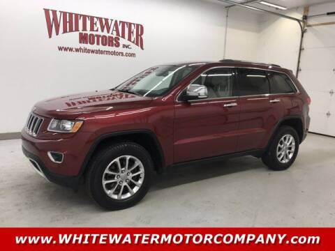 2014 Jeep Grand Cherokee for sale at WHITEWATER MOTOR CO in Milan IN