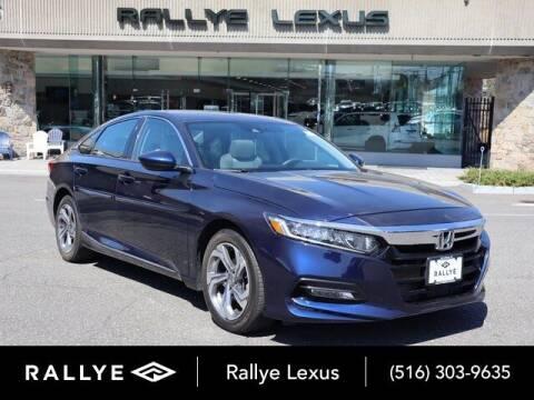 2018 Honda Accord for sale at RALLYE LEXUS in Glen Cove NY