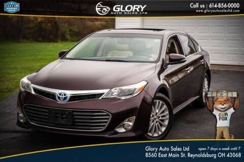 2014 Toyota Avalon Hybrid for sale at Glory Auto Sales LTD in Reynoldsburg OH