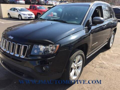2016 Jeep Compass for sale at J & M Automotive in Naugatuck CT