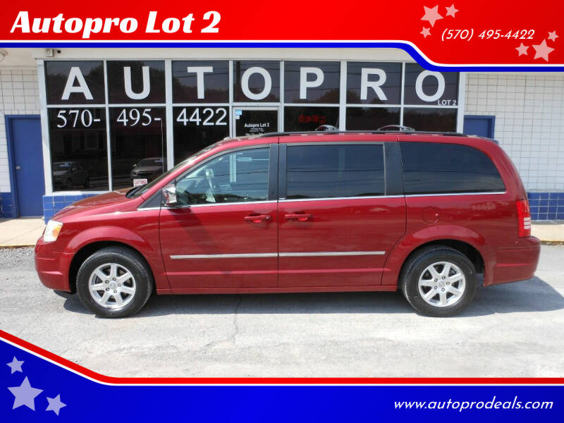 2010 Chrysler Town and Country for sale at Autopro Lot 2 in Sunbury PA