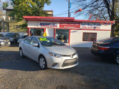 2016 Toyota Corolla for sale at Best Cars R Us in Plainfield NJ