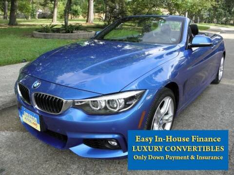 2018 BMW 4 Series for sale at Amazon Autos in Houston TX