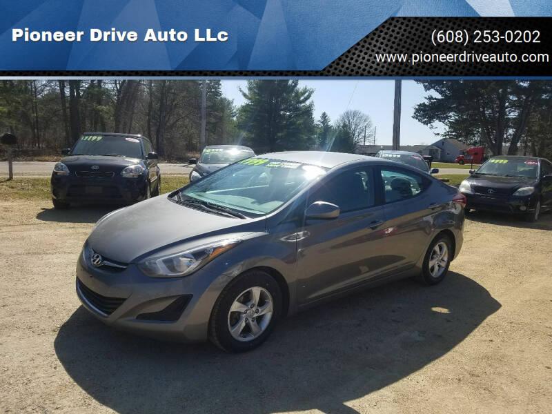 2014 Hyundai Elantra for sale at Pioneer Drive Auto LLc in Wisconsin Dells WI