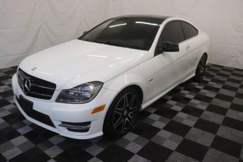 2014 Mercedes-Benz C-Class for sale at AH Ride & Pride Auto Group in Akron OH