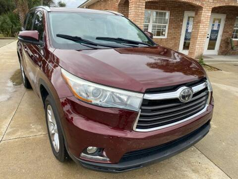 2014 Toyota Highlander for sale at MITCHELL AUTO ACQUISITION INC. in Edgewater FL