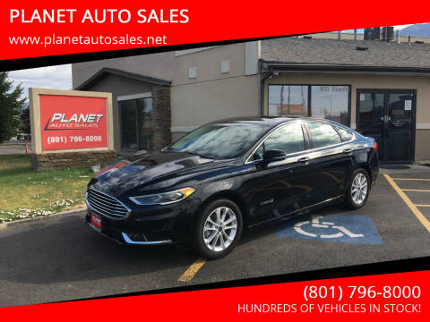 2019 Ford Fusion Hybrid for sale at PLANET AUTO SALES in Lindon UT