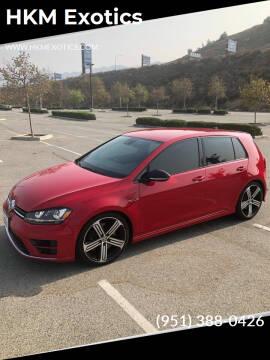 2016 Volkswagen Golf R for sale at HKM Exotics in Corona CA