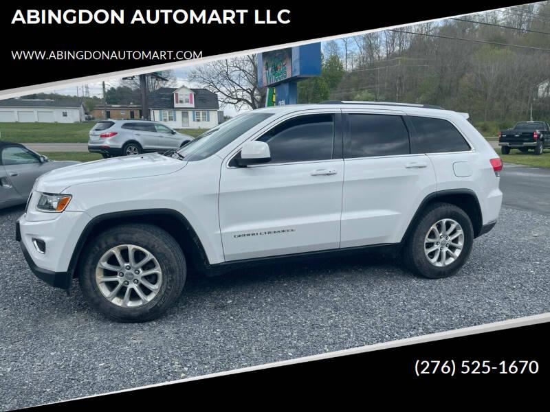 2014 Jeep Grand Cherokee for sale at ABINGDON AUTOMART LLC in Abingdon VA