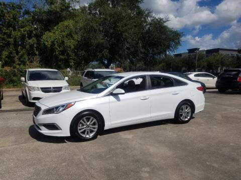 2017 Hyundai Sonata for sale at FAMILY AUTO BROKERS in Longwood FL