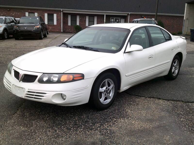 2001 Pontiac Bonneville for sale at Wamsley's Auto Sales in Colonial Heights VA