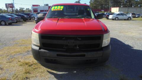 2010 Chevrolet Silverado 1500 for sale at Auto Mart - Moncks Corner in Moncks Corner SC