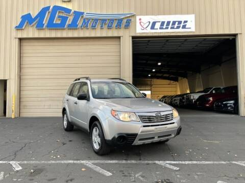 2010 Subaru Forester for sale at MGI Motors in Sacramento CA