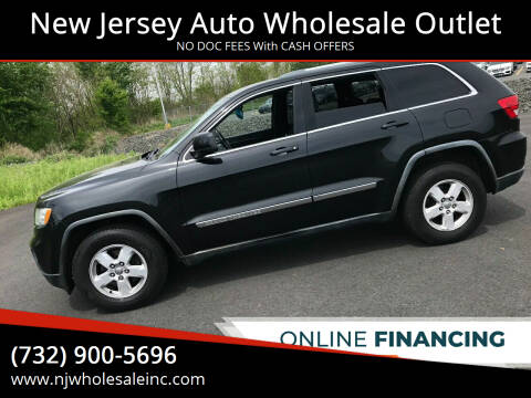 2012 Jeep Grand Cherokee for sale at New Jersey Auto Wholesale Outlet in Union Beach NJ