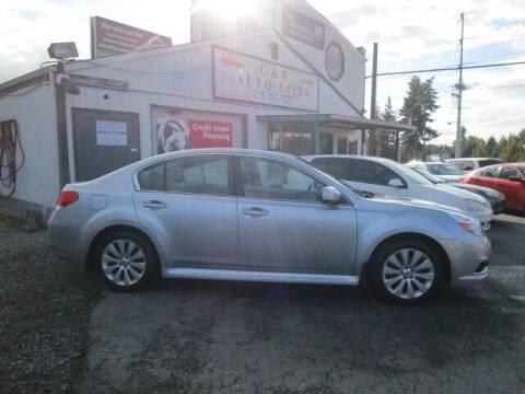 2012 Subaru Legacy for sale at G&R Auto Sales in Lynnwood WA