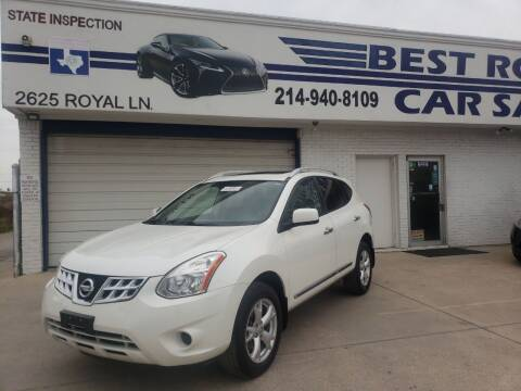 2011 Nissan Rogue for sale at Best Royal Car Sales in Dallas TX
