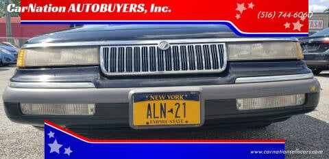 1992 Mercury Grand Marquis for sale at CarNation AUTOBUYERS, Inc. in Rockville Centre NY