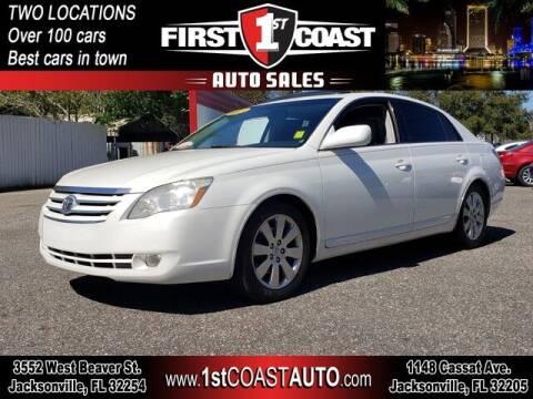 2005 Toyota Avalon for sale at 1st Coast Auto -Cassat Avenue in Jacksonville FL