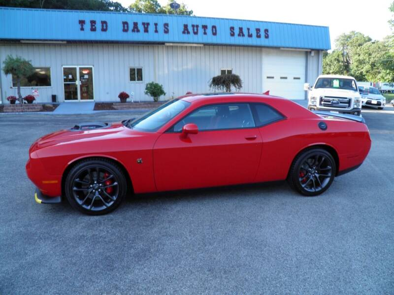 2021 Dodge Challenger for sale at Ted Davis Auto Sales in Riverton WV