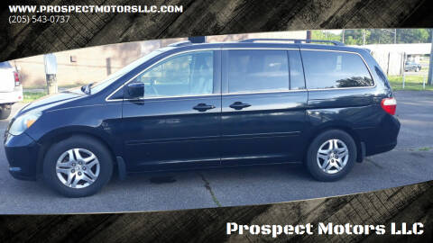 2007 Honda Odyssey for sale at Prospect Motors LLC in Adamsville AL