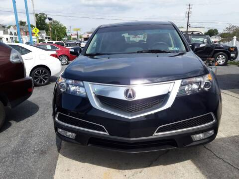 2013 Acura MDX for sale at Automotive Fleet Sales in Lemoyne PA