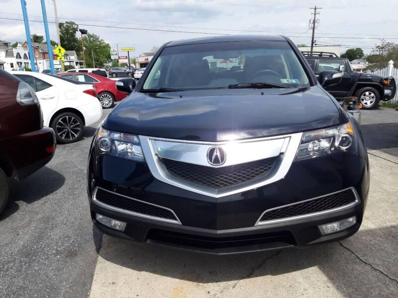 2013 Acura MDX for sale at Automotive Fleet Sales in Lemoyne PA