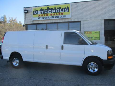 2019 Chevrolet Express Cargo for sale at Metropolis Auto Sales in Pelham NH