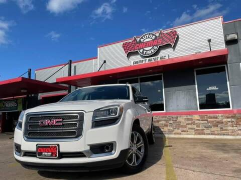 2014 GMC Acadia for sale at Chema's Autos & Tires in Tyler TX