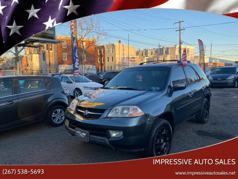 2003 Acura MDX for sale at Impressive Auto Sales in Philadelphia PA