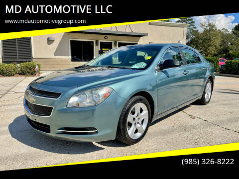 2009 Chevrolet Malibu for sale at MD AUTOMOTIVE LLC in Slidell LA