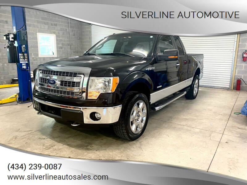 2013 Ford F-150 for sale at Silverline Automotive in Lynchburg VA