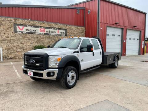 2012 Ford F-550 Super Duty XL for sale at Vogel Sales Inc in Commerce City CO